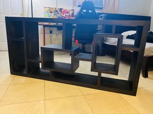 Wood Tv stand or bookshelf! for Sale in Boca Raton, FL