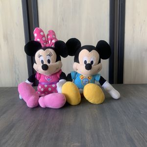 Talking Minnie And Mickey for Sale in Grove City, OH