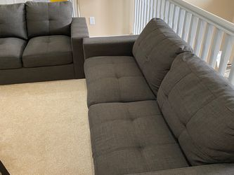 Grey Couch And Love Seat for Sale in Maple Valley,  WA