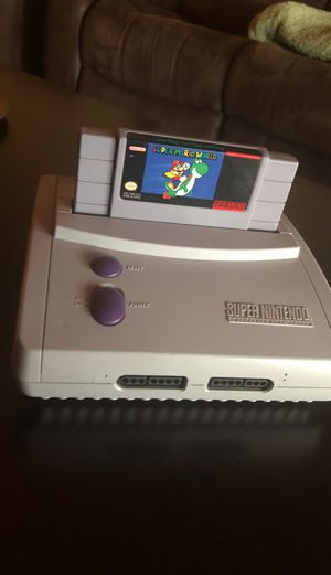 Super nintendo with super mario bros for Sale in Pembroke Pines, FL