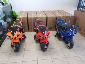 Rechargeable Motor Bikes for KIDS!!!!!! for Sale in Richardson, TX
