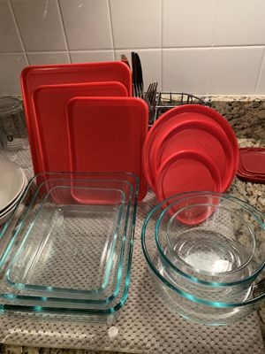Glass Bake and Store - Pyrex for Sale in Newton, MA