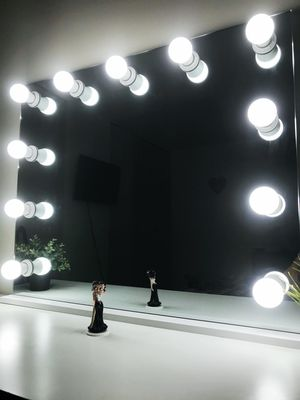 XL frameless makeup mirror with lights for Sale in Melrose Park, IL