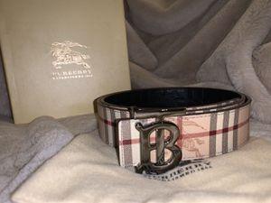 *New* Burberry Monogram Belt for Sale in Bethesda, MD