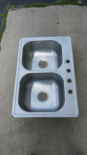 Kitchen stainless steel sink for Sale in Southfield, MI