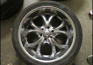 23in Truck Rims Chevy Truck Wheels for Sale in Raleigh, NC