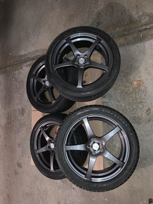 225/45R/17 Wheels And Tires Rims Toyota Scion 5x100 for Sale in Addison, IL