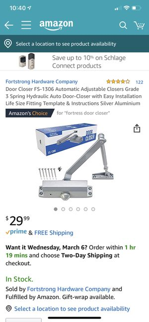 Door closer for Sale in Evansville, IN