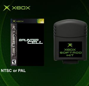 Original Xbox Softmod Kit - Memory Card & Splinter Cell for Sale in Los Angeles, CA