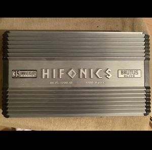 Hifonics Amps 35 year anniversary for Sale in Rosemead, CA