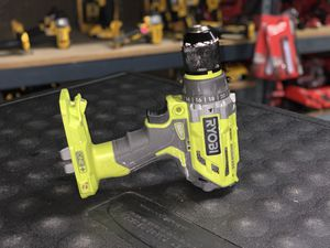RYOBI 18v CORDLESS BRUSHLESS HAMMER DRILL NO BATTERY OR CHARGER INCLUDED TOOL ONLY SOLO LA HERRAMIENTA for Sale in Moreno Valley, CA