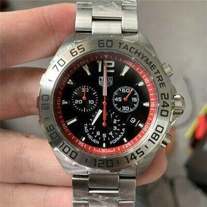 Tag Heuer Formula 1 Chronograph Mens Watch Black 43mm Quartz for Sale in Reno, NV