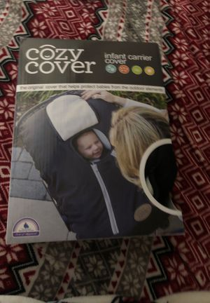 Baby cozy cover for car seat for Sale in Alexandria, VA