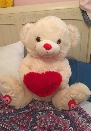 Valentine's Day teddy bear!!! for Sale in Toms River, NJ