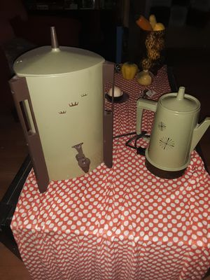 Matching Set (2) Vintage Retro 1970's Regal Poly Perk Electric Coffee/Tea Kettle and Urn/ Percolator for Sale in Phoenix, AZ
