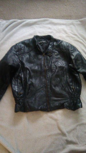 Leather Works Large Leather Jacket for Sale in Auburn, WA