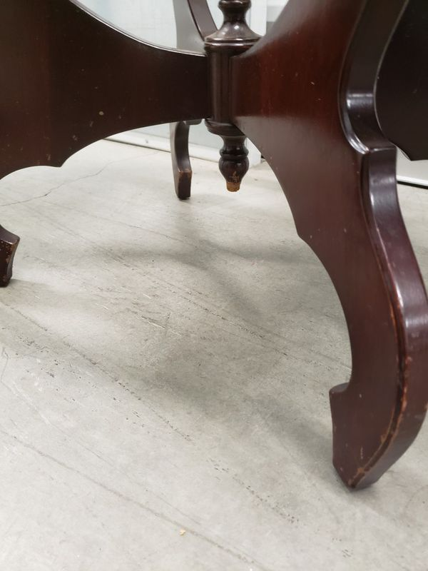 Marble Top Made In Italy Wooden Table