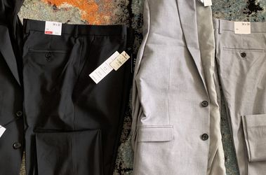 SELL TODAY - Lot Of 2 - Men's BRAND NEW EXPRESS Suits Sz 42R, 34x32 Pants for Sale in Queens,  NY