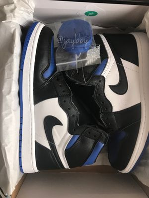 "Air Jordan 1's ""Royal Toe"" SIZE 9 for Sale in College Park, GA"