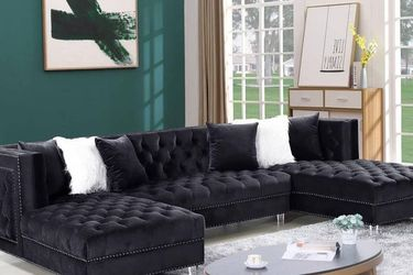 New Sofa Sectional With Two Chais - Free Delivery for Sale in Atlanta,  GA