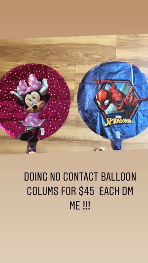 Balloon Column special ! No contact for Sale in Perris, CA