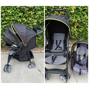 Graco, car seat and stroller set for Sale in Compton, CA