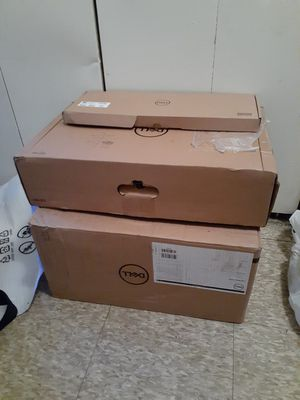 Brand new never used DELL computer 20 inch monitor complete with webcam and keyboard for Sale in Camden, NJ