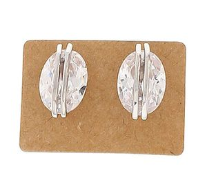 Exquisitely Brilliant 3+ ct prime cz 925 ss earings for Sale in San Francisco, CA
