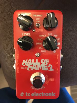 TC Electronic Hall of Fame 2 Reverb Guitar Effects Pedal for Sale in Scottsdale, AZ