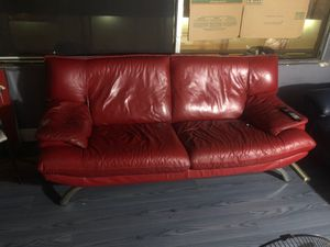 Red couch for sale for Sale in Miami, FL