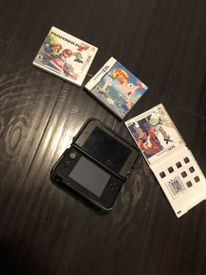 Nintendo 3DS with nerf case and games. for Sale in San Dimas, CA