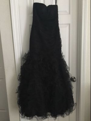 Prom/formal dress blk, size S $120 for Sale in Stockton, CA