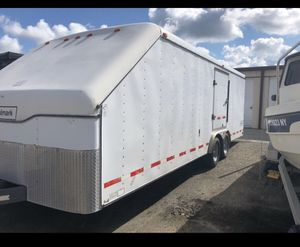 Will trade for a RV or camper 1996 Hallmark 26x102 enclosed car hauler for Sale in Fort Worth, TX