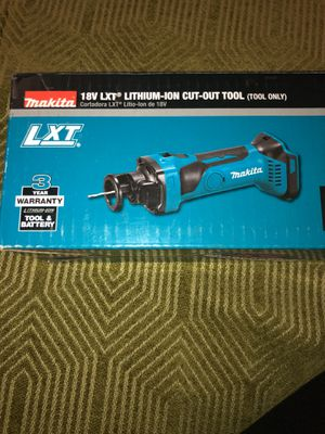 Makita LXT cut out tool brand new 18v tool only and LXT brushless drywall screwdriver for Sale in Oakland, CA