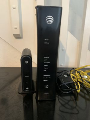 AT&T U-verse internet modem and WiFi router for Sale in Orlando, FL