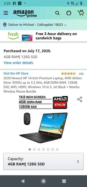 2020 hp newest 14 inch laptop for Sale in Collingdale, PA