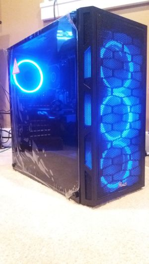 Gaming Rig 8.0 (Blue Rings of Fire) for Sale in Minneapolis, MN