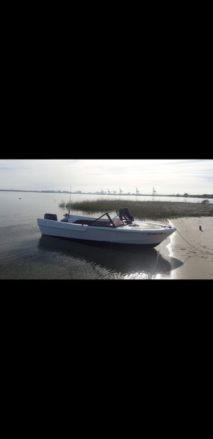 14ft 30 evinrude boat for Sale in Portsmouth, VA