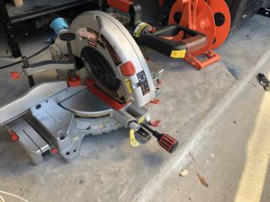 "Craftsman 10"" compound mitre saw for Sale in Cedar Park, TX"