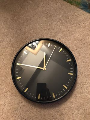 Blue and gold clock for Sale in Manassas, VA