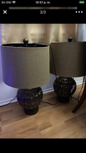 Juego de lámparas son del dorado for Sale in Hialeah, FL