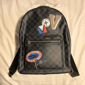 Louis Vuitton Josh Stickers Backpack Damier Graphite for Sale in Arcadia, CA