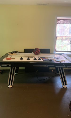 ESPN Air hockey/ping pong table for Sale in Roswell, GA