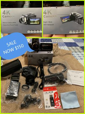VIDEO CAMERA for Sale in Bell Gardens, CA