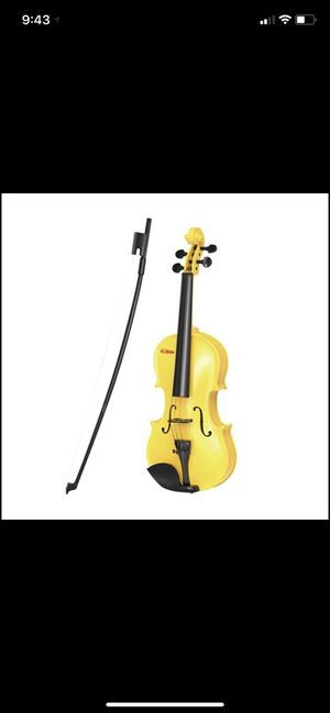 Children toy violin for Sale in Irving, TX