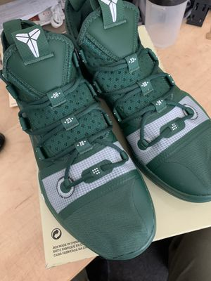 Kobe AD TB IN DARK GREEN. BRAND NEW. Last pair of Kobe's at nike outlet. $160 for Sale in Riverside, CA