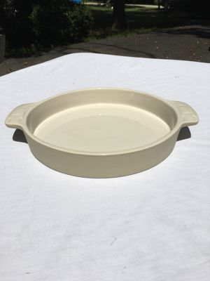 Longaberger pottery 9 inch baking dish for Sale in Fairfax, VA