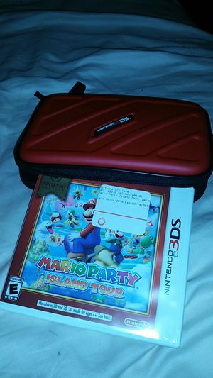 Nintendo 3Ds. Carrier and Mario game brand new never used for Sale in Haverhill, MA