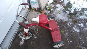 Tricycle Retro Red Radio Flyer Spike Wheels Steel Frame Parts & Repair Only for Sale in Port Huron, MI