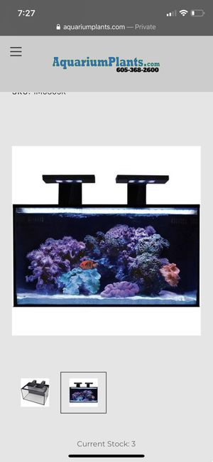 NUVO AQUARIUM FUSION NANO 20 AQUARIUM for Sale in Odessa, TX